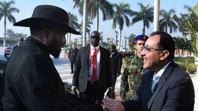 وزير ري جنوب السودان يؤكد حرص بلاده على تطوير التعاون الاقتصادي معمصر