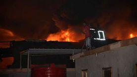 6 أبطال أنقذوا مصنعا يعملون به من الدمار.. واجهوا نيران مصنع كيماويات بـ«طفايات حريق»