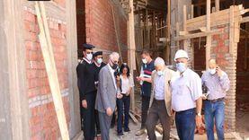 «فودة» يتابع العمل بمبنى مجلس مدينة شرم الشيخ الجديد
