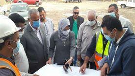 نائب محافظ القليوبية تتابع مشروعات بالوعات صرف الأمطار بطوخ