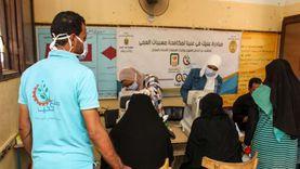 توقيع الكشف الطبي على 1062 مواطنا بالواحات ضمن قافلة «صناع الخير»