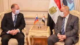 """سفير سلوفاكيا: نتطلع لمشاركة """"العربية للتصنيع"""" في مشروعات التنمية"""