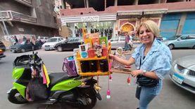 روبي حولت اسكوتر لـ«نصبة شاي وقهوة» بالإسكندرية: «أتمنى تبقى كافيه»