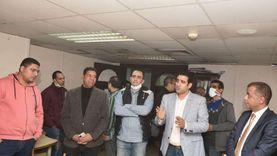 سامي عبدالراضي يجري جولات انتخابية بأخبار اليوم ومجلة الإذاعة والوكالة