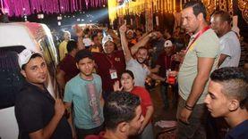 """أنصار أبوالعينين يحتفلون بتفوقه في """"النواب"""" بشوارع الدقي والجيزة"""