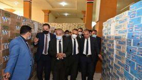 وزير التموين يتابع انتظام العمل في «دلتا ماركت» بأبوكبير