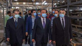 محافظ الإسكندرية يتفقد المنطقة الحرة ومجمع الصناعات البلاستيكية