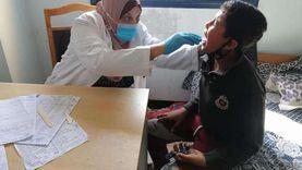 الكشف على 1400 مواطن في قافلة طبية بدمياط