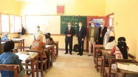 محافظ كفر الشيخ يتفقد لجان امتحانات الدبلومات الفنية