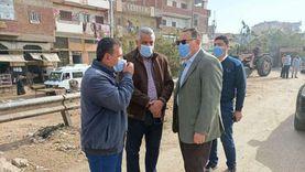 محافظ الشرقية: تكثيف النظافة ورفع الإشغالات بطريق أبو حماد