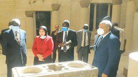 وزير التعليم العالىبجنوب السودان يزور  مجمع الاديان