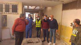 رفع كفاءة مستشفى الصدر ببني سويف لمواجهة كورونا
