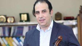 وفاة الفنان أشرف هيكل عميد المعهد العالي للموسيقى العربية بكورونا