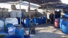 صحة جنوب سيناء تغلق مصنع مخللات بمدينة رأس سدر