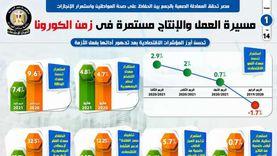 مصر تحقق المعادلة الصعبة بين تحقيق الإنجازات والحفاظ على صحة المواطن (إنفوجراف)