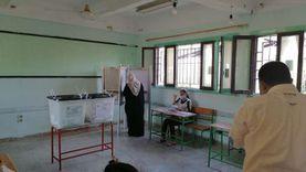 صور.. بدء توافد المواطنين على لجان التصويت بانتخابات النواب في الغردقة