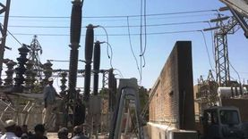 فصل الكهرباء عن 5 مناطق بدسوق الأحد