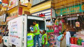 مستقبل وطن الأقصر يوزع 2000 علبة حلوى المولد النبوي على عمال النظافة