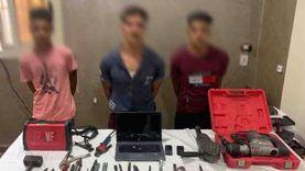 """اعتراف 3 لصوص بقتل خفير وسرقة مصنع بالقليوبية: """"عمل فيها 7 رجالة"""""""