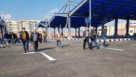 تشغيل موقفين جديدين لسيارات الأجرة في مدينة دمياط الجديدة