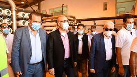 """حفر 18 بئرا لتغذية محطة تحلية مياه """"نبق"""" بشرم الشيخ"""