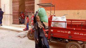 """الأورمان تستجيب للشيالة """"ناهد"""" بعد نشر """"الوطن"""" قصتها: كشك وعفش للبيت"""
