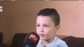 """فيديو.. طفل الأسمرات الذي ألقى قصيدة أمام الرئيس: """"بعتبره زي بابا"""""""