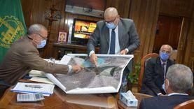 محافظ القليوبية يتابع أعمال تطوير طريق شركات البترول