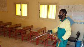 حملة لتعقيم مدارس جنوب سيناء لمواجهة كورونا
