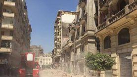 النيابة تشكل لجنة فنية هندسية لمعاينة عقار قصر النيل المنهار