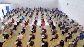 إجراء امتحانات الكلية المصرية الصينية بجامعة القناة وسط إجراءات احترازية
