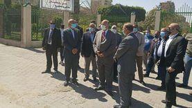 محافظ القاهرة يوجه بإعادة تخطيط الحدائق