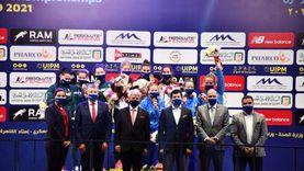 صبحي والعريان يتوجان الفائزين في منافسات السيدات ببطولة العالم