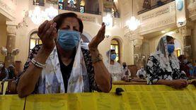 بعد توقف 4 أشهر.. أول قداس بالقاهرة من كنيسة السيدة العذراء