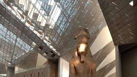 التفاصيل الكاملة لنجاح تجربة تعامد الشمس على وجه رمسيس بالمتحف الكبير