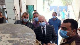 """حملة رقابية موسعة على مصانع الأغذية بـ""""العاشر"""": إعدام 950 كجم طحينة"""