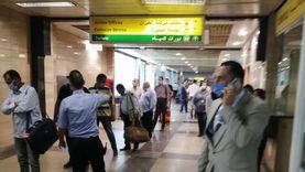 المطار يستقبل 17 رحلة دولية لنقل 1961 مسافرا