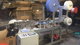 ضبط 3 مصانع كمامات وبلاستيك و«تنكات» مياه بالقليوبية: تحت «بير سلم»