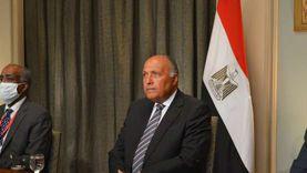 سامح شكري: لم نتواصل مع تركيا بشأن ليبيا