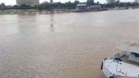 إنقاذ شاب من الغرق بنهر النيل بدسوق في كفر الشيخ