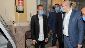 محافظ بني سويف يرفض مغادرة لجنة قبل فرض إجراءات التباعد