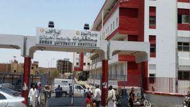 «أطباء أسوان الجامعي» ينقذون مصابا وصل المستشفى مذبوحا