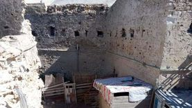 إزالة التعديات على طابية «كوسا باشا» الأثرية بالإسكندرية