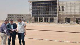 رئيس جهاز بدر يتفقد مشروعات الطرق المؤدية لمحطات القطار الكهربائي