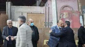 """أعضاء النواب والشيوخ في عزاء """"عبد الغفور البرعي الحقيقي"""" (صور)"""