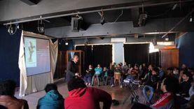 «مراحل صناعة الأفيش» على مسرح آداب جامعة الإسكندرية