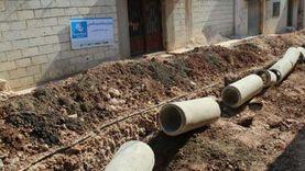 بدء تنفيذ مشروع الصرف الصحي بقرية «المحسمة» في الإسماعيلية