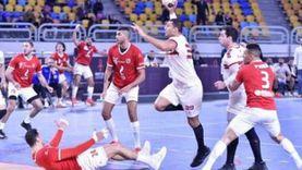 تعادل الزمالك مع الأهلي ومباراة فاصلة لحسم بطل دوري كرة اليد