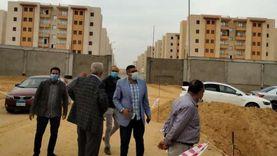"""مساعد نائب رئيس""""هيئة المجتمعات العمرانية """" يتفقد مشروعات منطقة الـ800 فدان بـ""""6 أكتوبر الجديدة"""""""