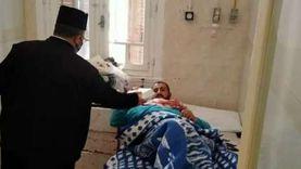 بمشاركة كاهن كنيسة الروم.. أوقاف دمياط توزع 100 وجبة بمستشفى الصدر